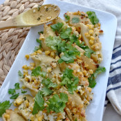 Mexican Street Corn Stuffed Shells